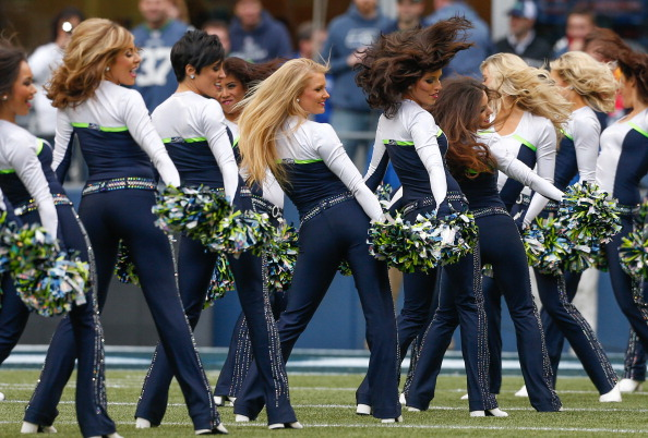 SEATTLE, WA - DECEMBER 30: The Seattle Seagals perform prior to the game against the St. Louis Rams at CenturyLink Field on December 30, 2012 in Seattle, Washington. (Photo by Otto Greule Jr/Getty Images)