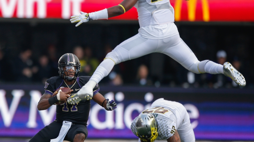 Dion: Marcus Mariota, Oregon Too Much For Huskies