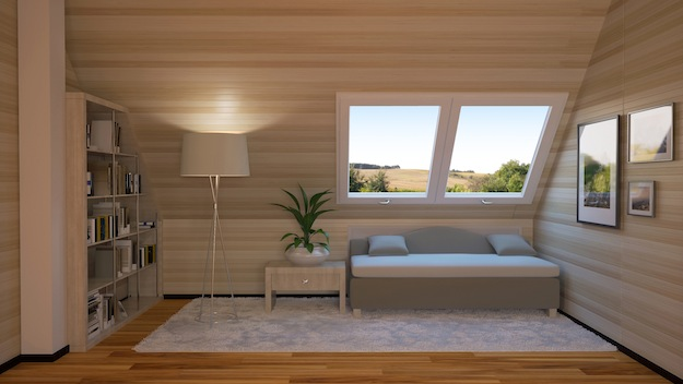 Turn Your Attic Into A Bedroom