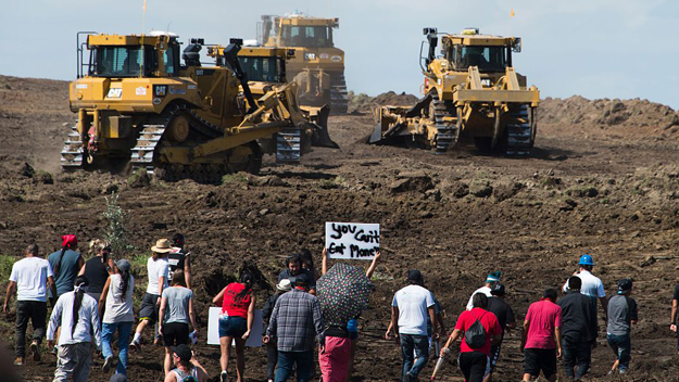 Officials Shoot At Drone During Pipeline Protests, Arrest 126