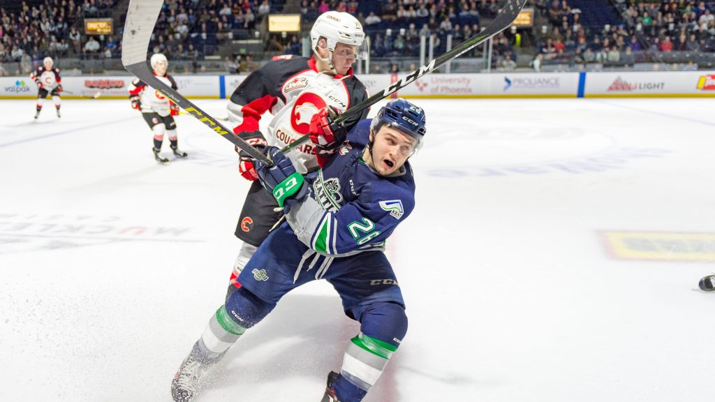 Five T-Birds Attending NHL Training Camps