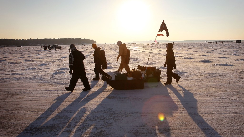 Best Places For Ice Fishing In The US