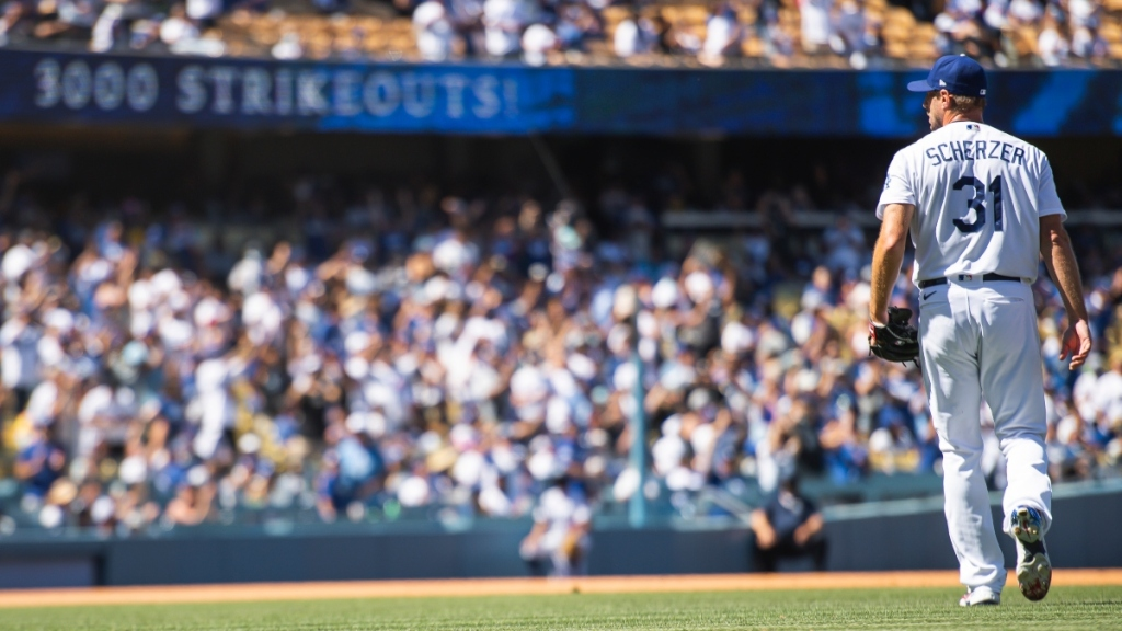 Baseball Report: Max Scherzer's Continued Dominance Helps Dodgers Keep Pace