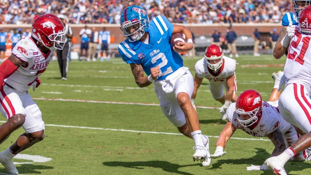 'Don't Be Shocked By Anything When These Two Teams Get ...s' Rick Neuheisel Previews LSU-#12 Ole Miss And 3 More Games